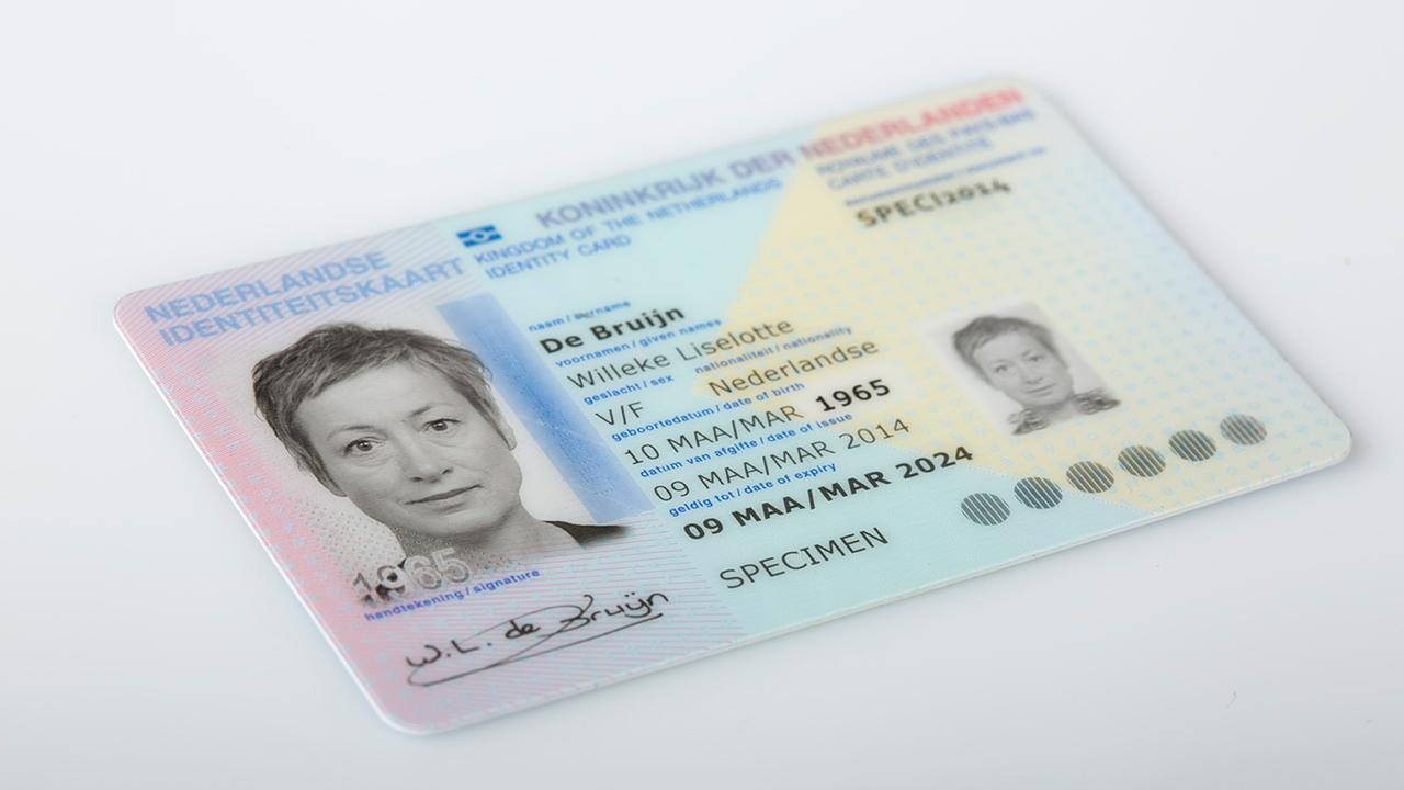 Sex will be removed from Dutch ID-cards